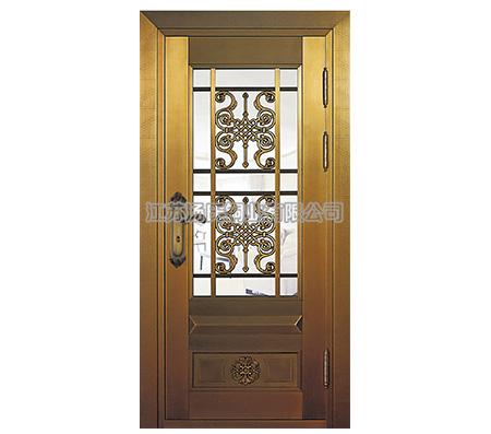 铜艺玻璃门,铜质纱门,别墅铜艺玻璃门,复古铜门,豪华铜质纱门